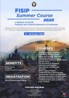 FISIP Summer Course 2020: A Glimpse...